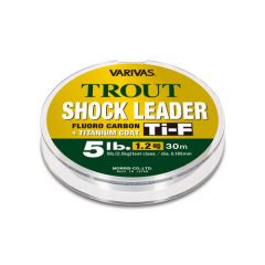 Fir Fluorocarbon Varivas Trout Shockleader Ti-F 0.165mm/4lb/30m
