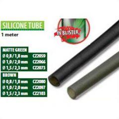 Tub silicon Carp Zoom 0,8/1,8mm - Green, 1m