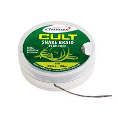 Fir textil Climax Snake Braid Lead Free Dark Silt 40lb/10m