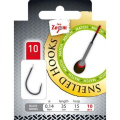 Carlige Carp Zoom Match Legate Nr.12 - Fir 0,14mm