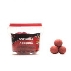 Boilies solubile pentru carlig Senzor Capsuna 18mm 100gr