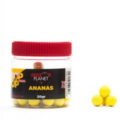Boilies Senzor Pop-up Ananas 10mm