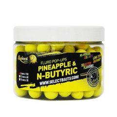 Boilies Select Baits Pineapple & N-Butyric Micro Pop Up 8mm