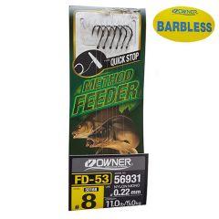 Montura Owner Feeder 56931 FD-53 Quick Stop BL Nr12/0.20mm