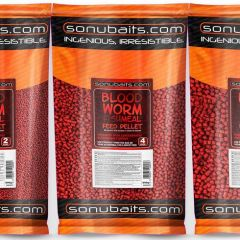 Pelete Sonubaits Bloodworm Fishmeal Feed 2mm