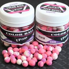 Boilies Steg Pop-Up Duo Color Peach&Plum 8mm 30g