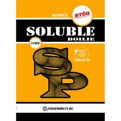Boilies Steg Solubile Squid&Scopex 24mm 1kg