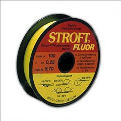 Fir monofilament Stroft FLUOR, 100m, 0.185mm, 3.30 kg