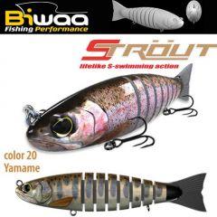 Swimbait Biwaa Strout 14cm/29g, culoare Yamame