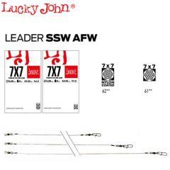 Strune Lucky John SSW AFW Nylon Coated 0.28mm/9kg/20cm - 2buc/plic