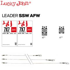 Strune Lucky John SSW AFW Nylon Coated 0.28mm/9kg/25cm - 2buc/plic