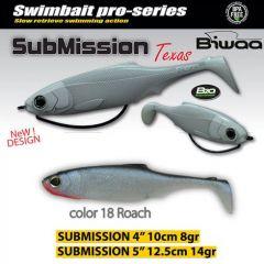 Shad Biwaa Submission 10cm, culoare Roach