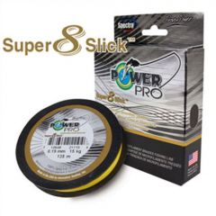 Fir textil PowerPro Super 8 Slick Yellow  0,13mm/135m (8lb. test)