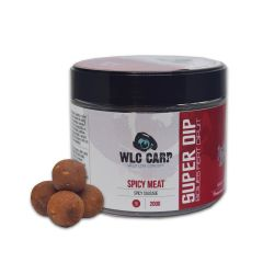 Boilies WLC Carp Super Dip Spicy Meat 16mm - Spicy Sausage