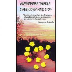 Porumb artificial Enterprise Tackle Sweetcorn Hair Stop  - Mini Yellow
