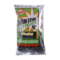 Pelete Dynamite Baits Swim Stim Amino Green Pinging Pellets 13mm 900g