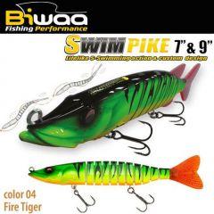 Swimbait Biwaa Swimpike SS 18cm/26g, culoare Fire Tiger