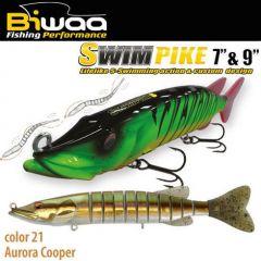 Swimbait Biwaa Swimpike SS 18cm/26g, culoare Aurora Cooper