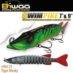 Swimbait Biwaa Swimpike SS 18cm/26g, culoare Tiger Musky