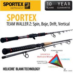 Lanseta Sportex Team Waller Z Drift 2.40m/200-400gr