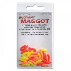 Viermi artificianli Drennan Buoyant Maggot - Fluorescent