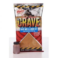Dynamite Baits The Crave Base Mix & Liquid Kit 1kg