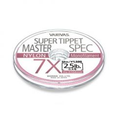 Fly Leader Varivas Super Tippet Master Spec Nylon  50m 4X