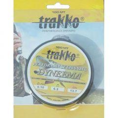 Fire textil Trakko Performance Dyneema Alb 0.14mm/8.3kg/100m