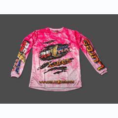 Tricou Relax Pink, marime XL