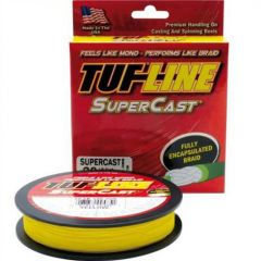 Fir textil Tuf Line SuperCast Yellow 6lb/125yds US