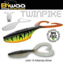 Shad Biwaa Twinpike 15cm/24g, culoare Arkansas Shiner