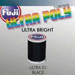 Ata matisaj Fuji Ultra Bright #50/100m- Black 001