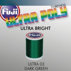 Ata matisaj Fuji Ultra Bright #50/100m- Dark Green 003