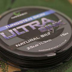 Gardner Ultra Sink Tungsten Hooklink 25lb - Natural Silt