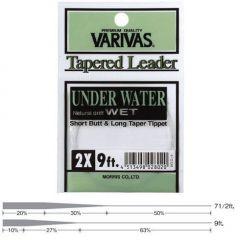 Fly Leader Varivas Under Water 9ft 3X