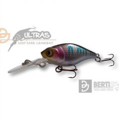 Vobler Berti Ultras Deep Crank 40F Purple Perch