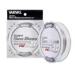 Fir Textil Varivas Avani Sea Bass Max Power PE X8 Stealth Gray 0.18mm/24.1lb/150m
