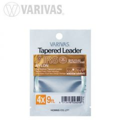Fly Leader Varivas Tapered Airs 9ft 7X
