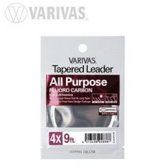 Fly Leader Varivas All Purpose Fluoro 9ft 3X