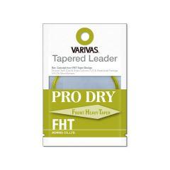 Fly Leader Varivas Tapered Leader Pro Dry FHT Nylon 6X 11ft