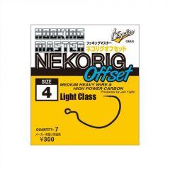 Carlige Varivas offset Nogales Nekoring Light Nr.4