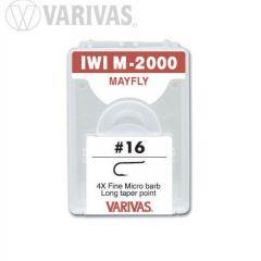 Carlige Varivas IWI M-2000 Mayfly 4X Fine nr.18
