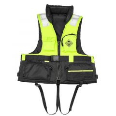 Vesta de salvare Fladen Fishing Yellow/Black, XL