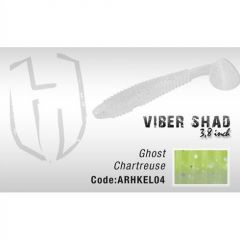 Shad Colmic Herakles Viber Shad 9.7cm Ghost Chartreuse