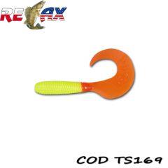 Grub Relax Twister VR3 6cm, culoare 169 - 15buc/plic