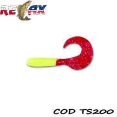 Grub Relax Twister VR3 6cm, culoare 200 - 15buc/plic