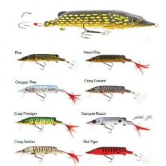 Vobler Westin Mike the Pike HL 14cm/30g, culoare Red Tiger
