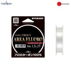 Fir fluorocarbon Yamatoyo Famell Trout Area Fluoro 0.092mm/1.2lb/100m