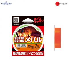 Fir monofilament Yamatoyo Famell Super Nylon Mebaru 0.128mm/2lb/100m