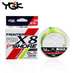 Fir textil YGK Frontier Braid Cord X8 For Shore 0.185mm/20lb/150m